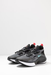 Nike Sportswear - SIGNAL D/MS/X - Sneakers laag - black/dark grey/off noir/rush violet/light aqua/red orbit - 2