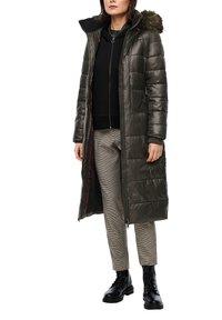 s.Oliver - MIT LOGO-GÜRTEL - Winter coat - khaki - 3