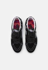 Vans - SK8 MID UNISEX - Zapatillas altas - black/true white - 3