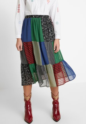 SIERRA SKIRT - Áčková sukně - blue