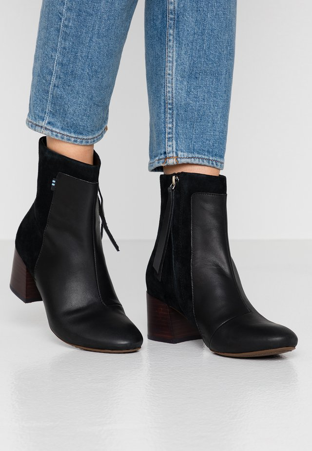 EMMY - Kotníkové boty - black