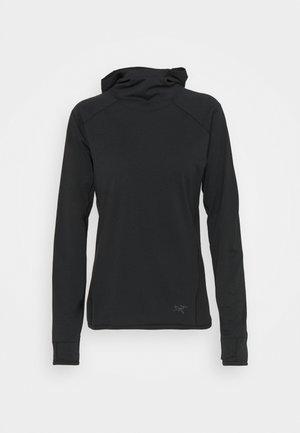 MOTUS AR HOODY WOMEN'S - Fleece jumper - black heather
