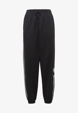 CUFFED ADICOLOR SPORTS INSPIRED PANTS - Träningsbyxor - black/white