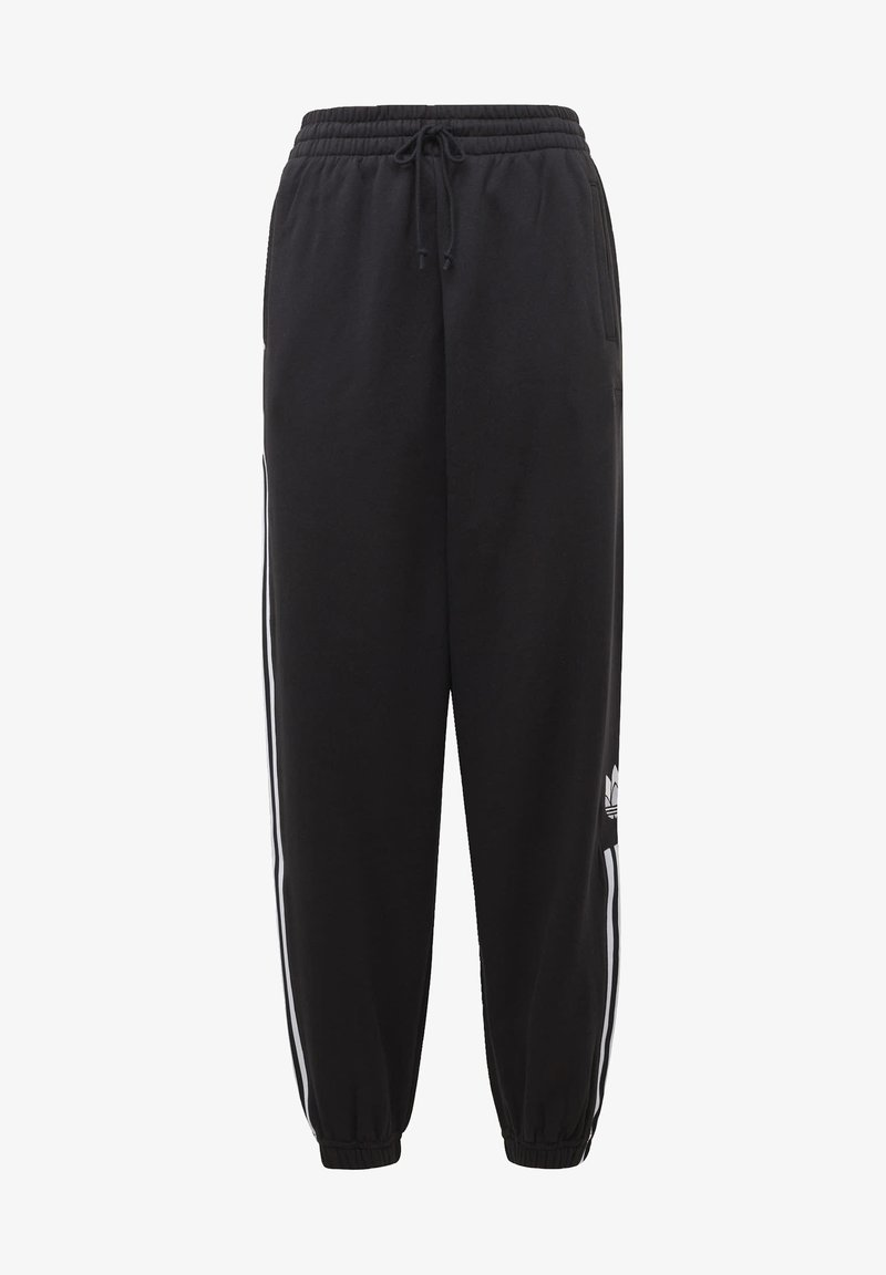 adidas Originals - CUFFED ADICOLOR SPORTS INSPIRED PANTS - Træningsbukser - black/white