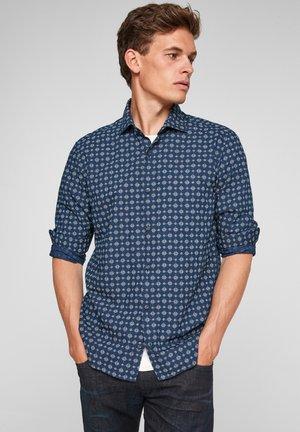 Shirt - dark blue aop