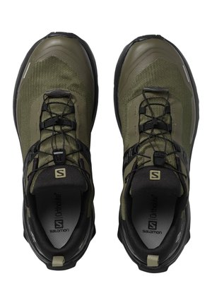 "SALOMON HERREN WANDERSCHUHE ""SHOES X RAISE GTX"" - Hiking shoes - khaki (44)"
