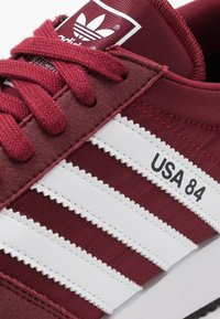 adidas Originals - USA 84 - Trainers - core burgundy/footwear white/blue - 5