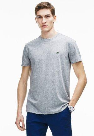 T-shirt basic - argent chine