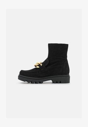 KIARA - Platform ankle boots - black