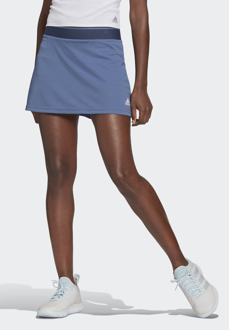 adidas Performance - Sports skirt - blue