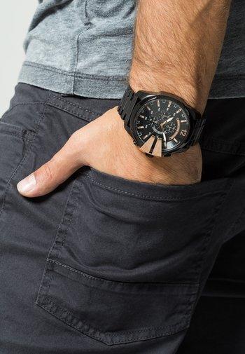 MEGA CHIEF - Chronograph watch - black