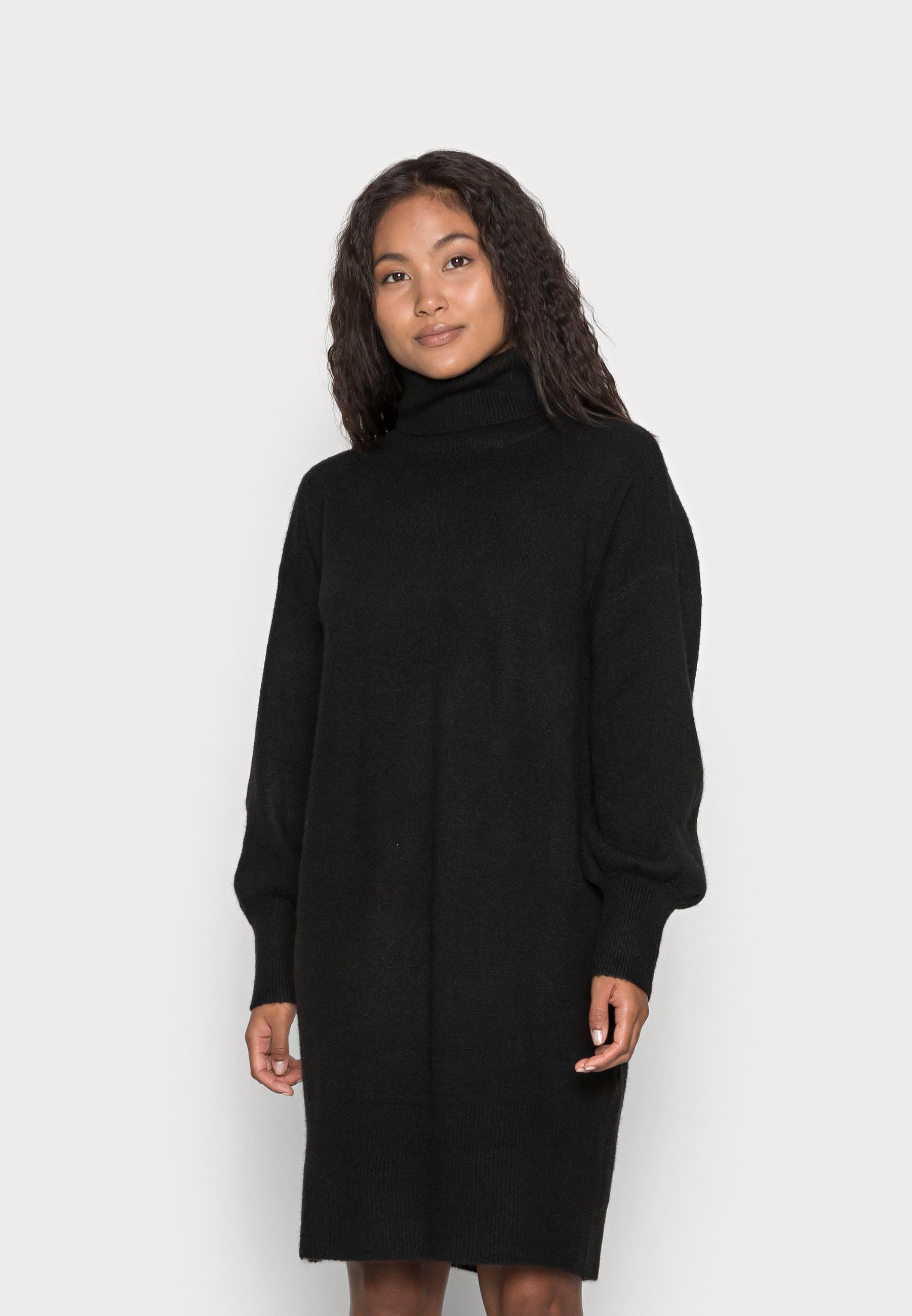 Mujer PCFABIA HIGH NECK DRESS - Vestido de punto