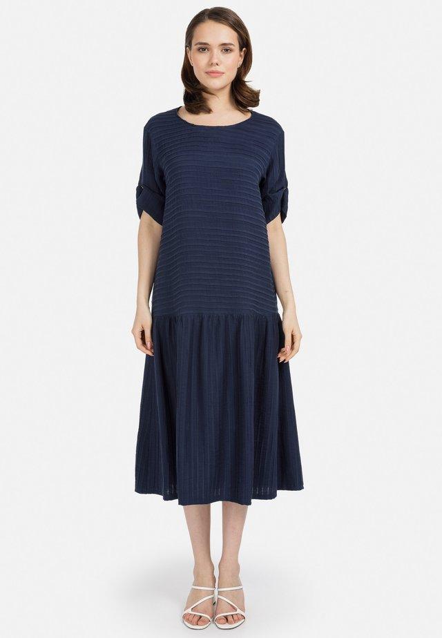 Korte jurk - dunkel blau