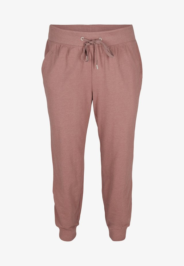 Trainingsbroek - rose taupe melange