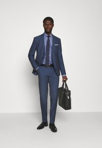 Tommy Hilfiger Tailored - DOBBY DESIGN CLASSIC - Formal shirt - blue - 1