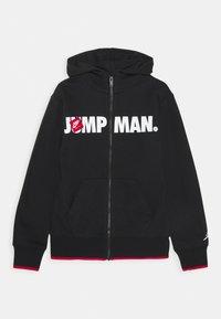 Jordan - JUMPMAN HOODIE - Zip-up hoodie - black - 0