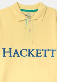 Hackett London - CUFFS - Polo shirt - lemon