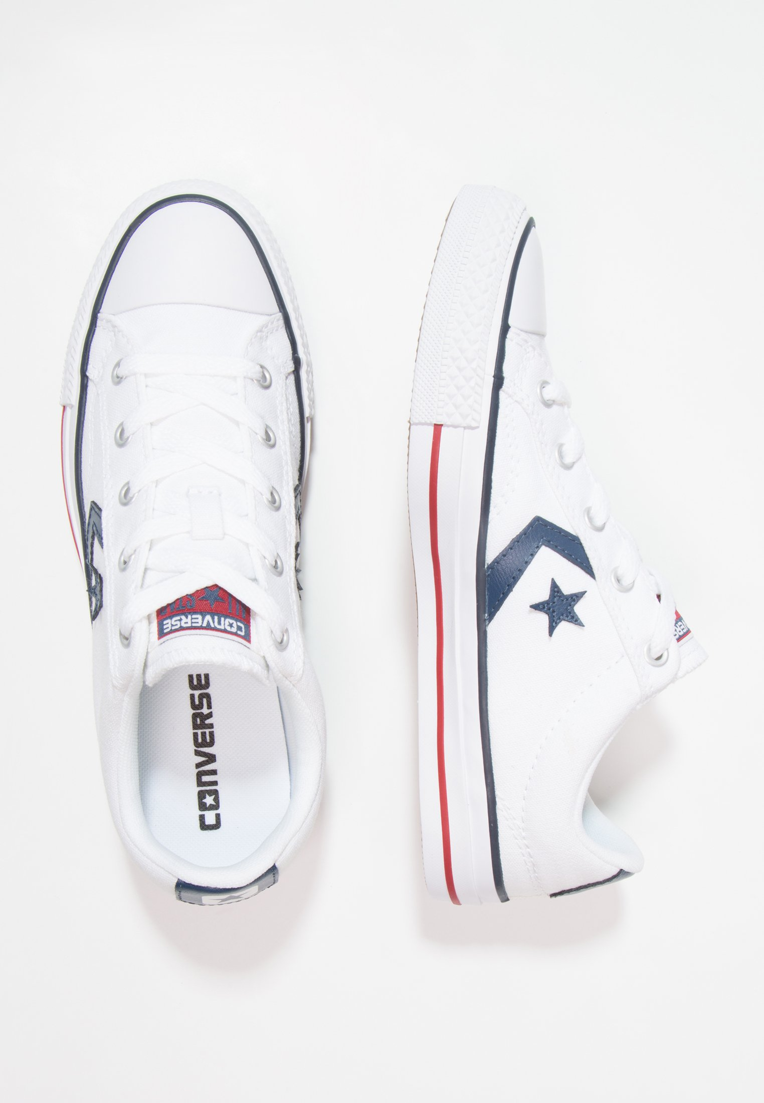 STAR PLAYER OX - Sneakers basse - white/navy