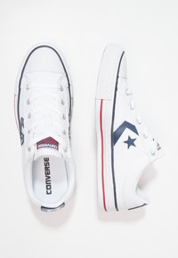 Converse - STAR PLAYER OX - Matalavartiset tennarit - white/navy - 1