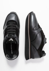 Emporio Armani - CHRISTINA - Trainers - black - 3