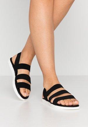 GUNNER - Sandals - black