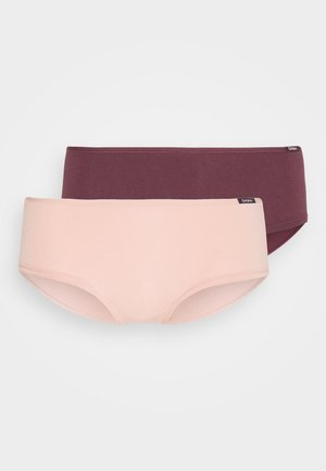 DAMEN PANTY ADVANTAGE 2 PACK - Underbukse - aubergine selection