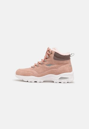 KW-COZY - Lace-up ankle boots - dusty rose/vapor grey