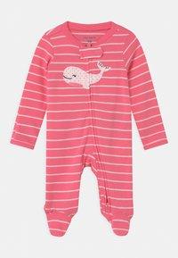 Carter's - WHALE - Dupačky na spaní - pink - 0