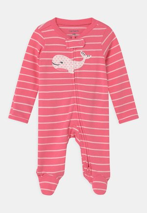 WHALE - Sleep suit - pink