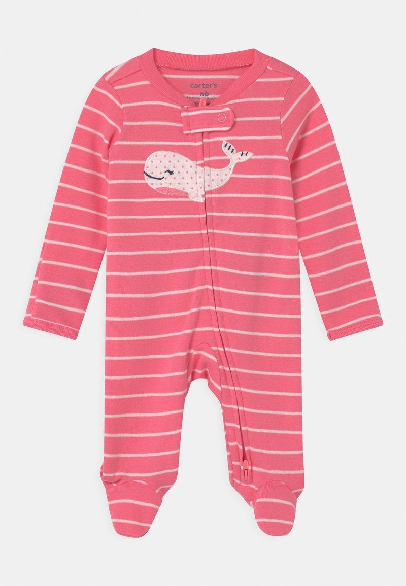 Carter's - WHALE - Dupačky na spaní - pink