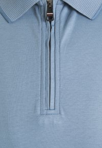 Tommy Hilfiger - INTERLOCK ZIP SLIM  - Polo shirt - colorado indigo - 5