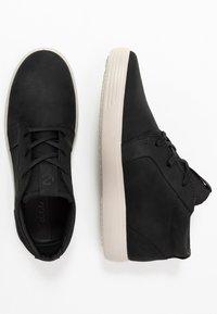ECCO - SOFT 7 - Höga sneakers - black - 1