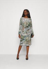 Alberta Ferretti - DRESS - Day dress - grey - 1