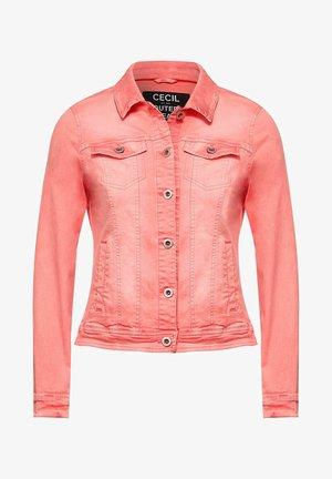 IM COLOUR STYLE - Denim jacket - orange