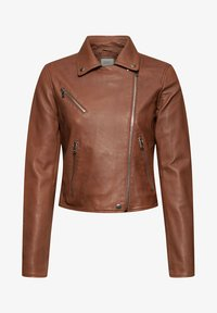 edc by Esprit - Leather jacket - caramel - 6