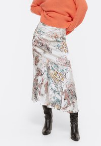 Uterqüe - A-line skirt - beige - 0