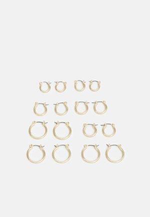 GITLINA EARRINGS 8 PACK - Earrings - gold-coloured