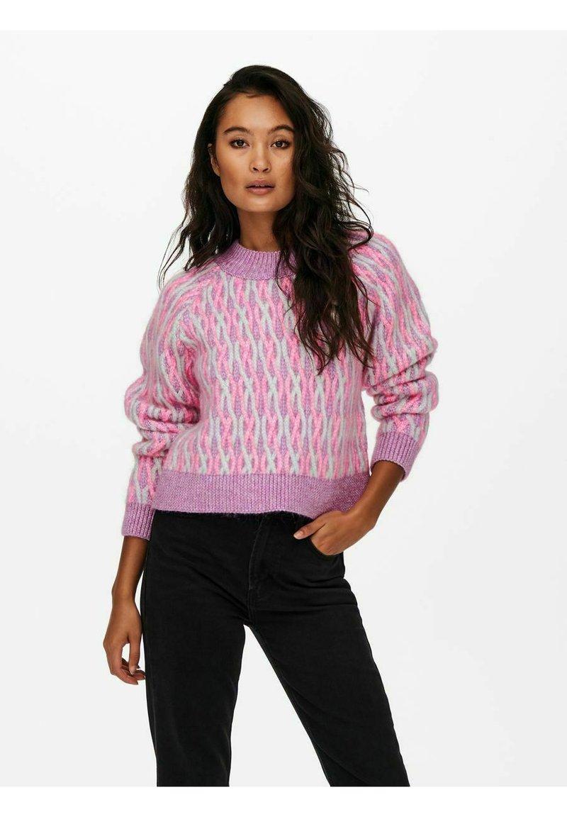 ONLY - Sweatshirt - opera mauve