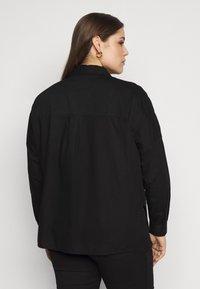 Pieces Curve - PCREMEY  - Button-down blouse - black - 2