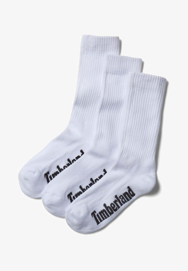 Timberland - 3 PACK - Socks - white