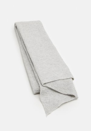 PCBENILLA LONG SCARF - Šála - light grey melange