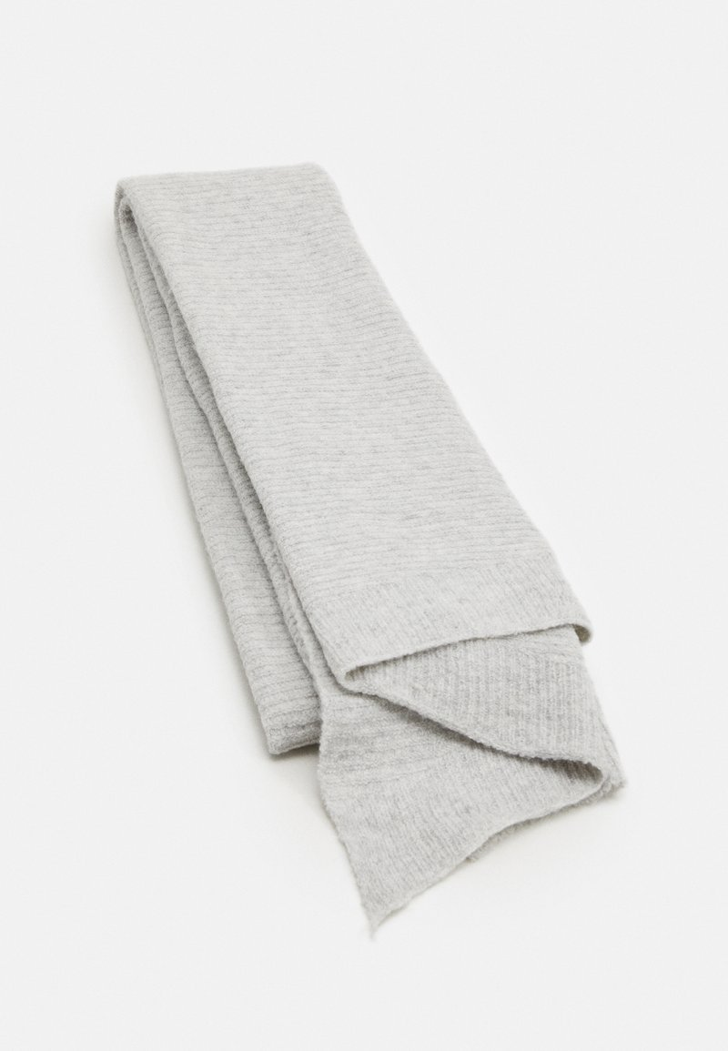 Pieces - PCBENILLA LONG SCARF - Sjaal - light grey melange