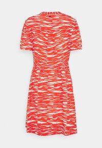 Calvin Klein - SHORT DRESS - Day dress - fiesta/ecru - 7
