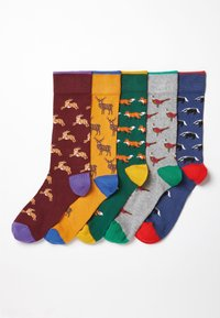 Next - 5 PACK - Socks - multi-coloured - 6