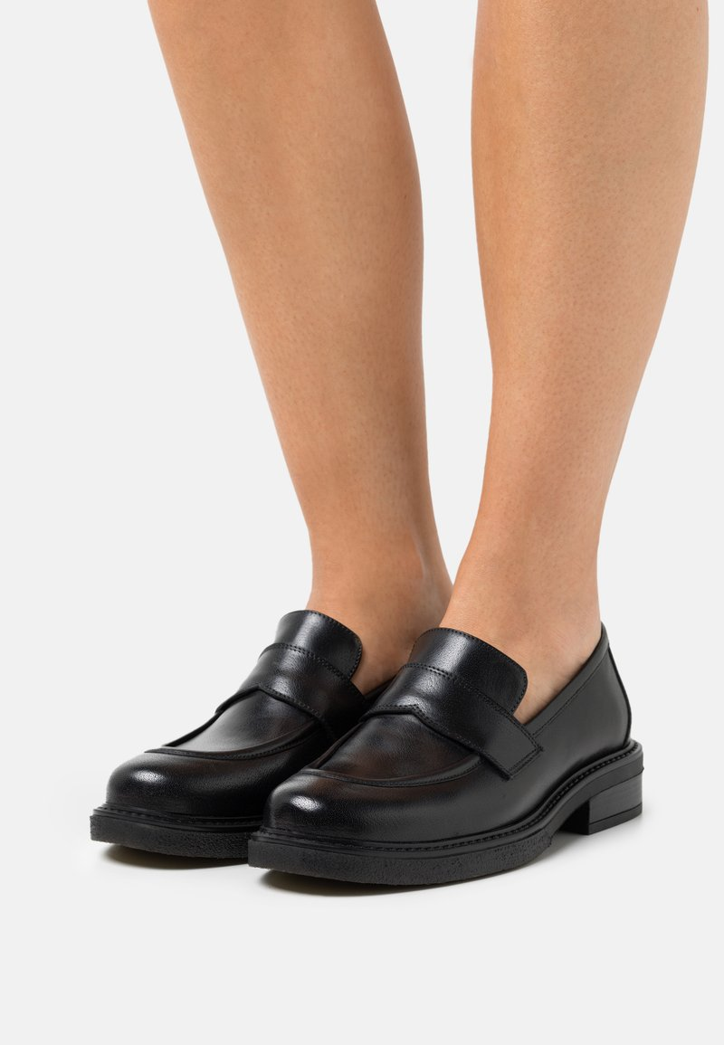 San Marina - ALIDANA - Nazouvací boty - noir