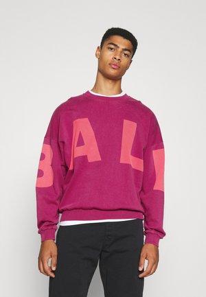 BALL WHAM CREW NECK - Sweatshirt - very berry