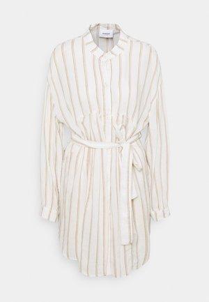 STRIPES  - Košilové šaty - beige