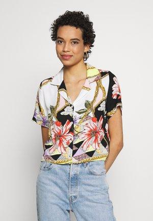 PRINTED - Button-down blouse - antique white