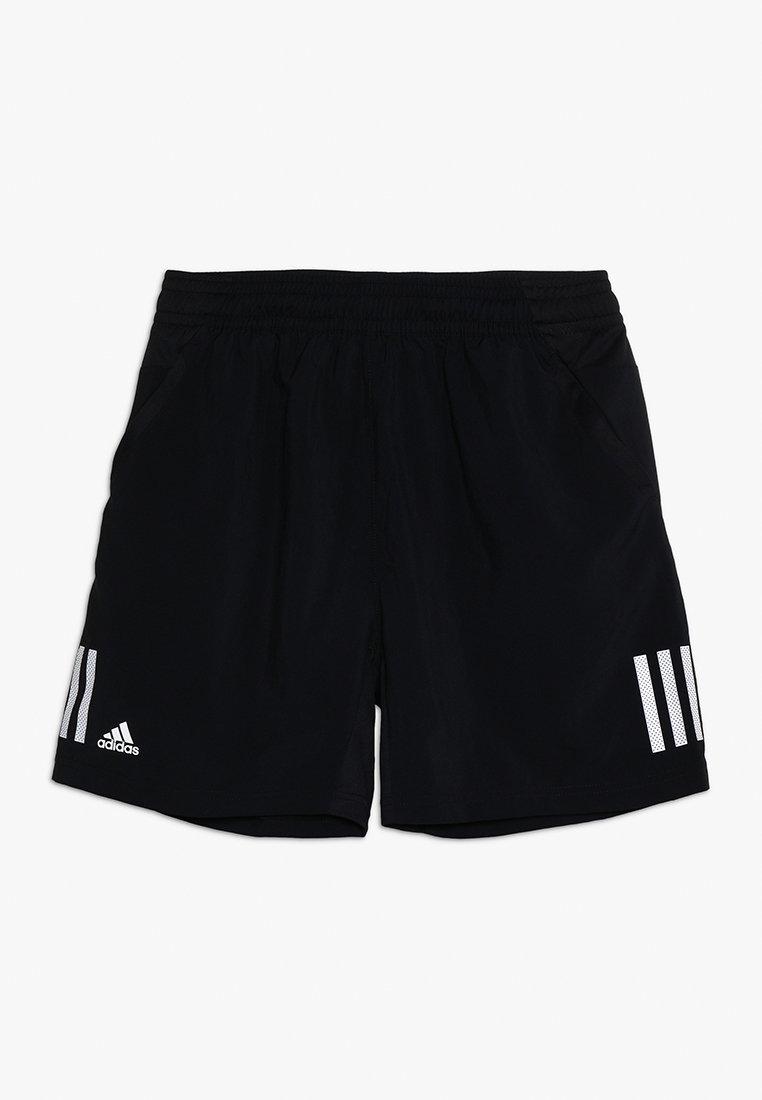 adidas Performance - CLUB SHORT - Korte broeken - black/white