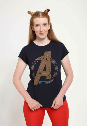 MARVEL - T-shirts print - navy blue